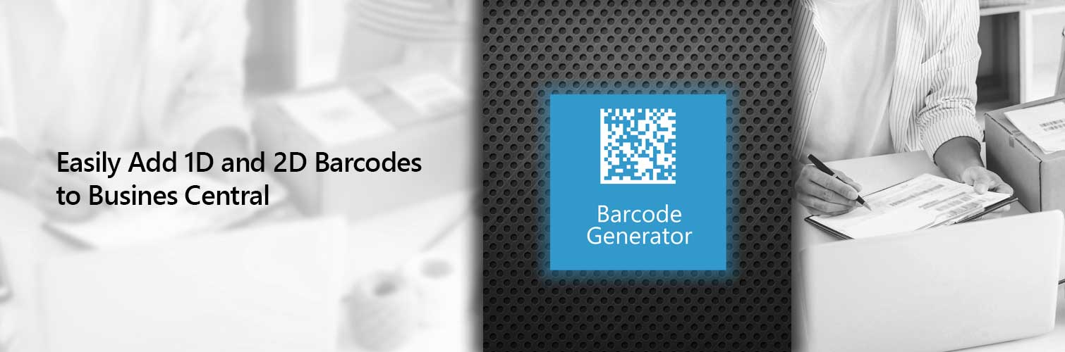 Add Barcodes to Business Central Reports
