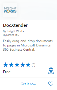 DocXtender on AppSource
