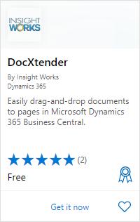 DocXtender on AppSource