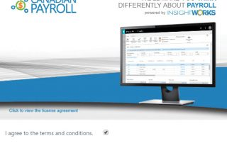 Canadian Payroll Set-up Wizard