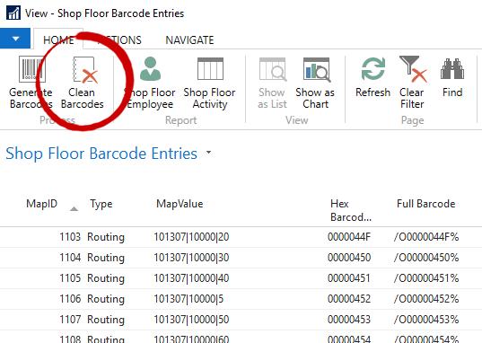 Clean Barcodes