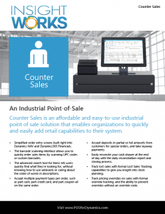 Counter Sales