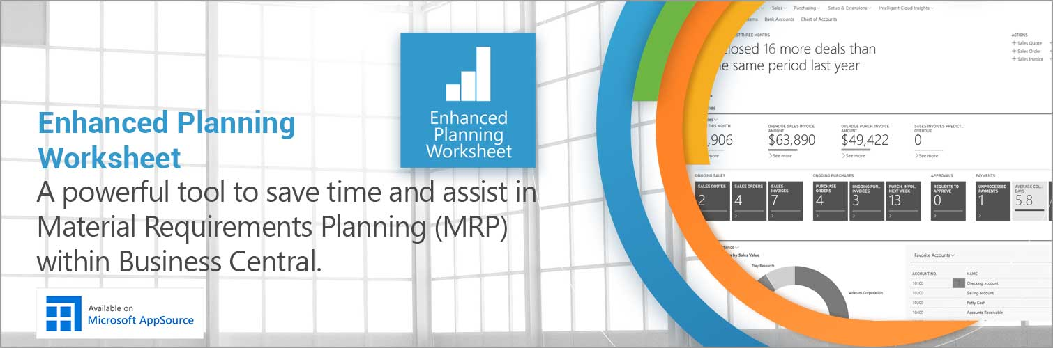 Material Requirements Planning for Business Central