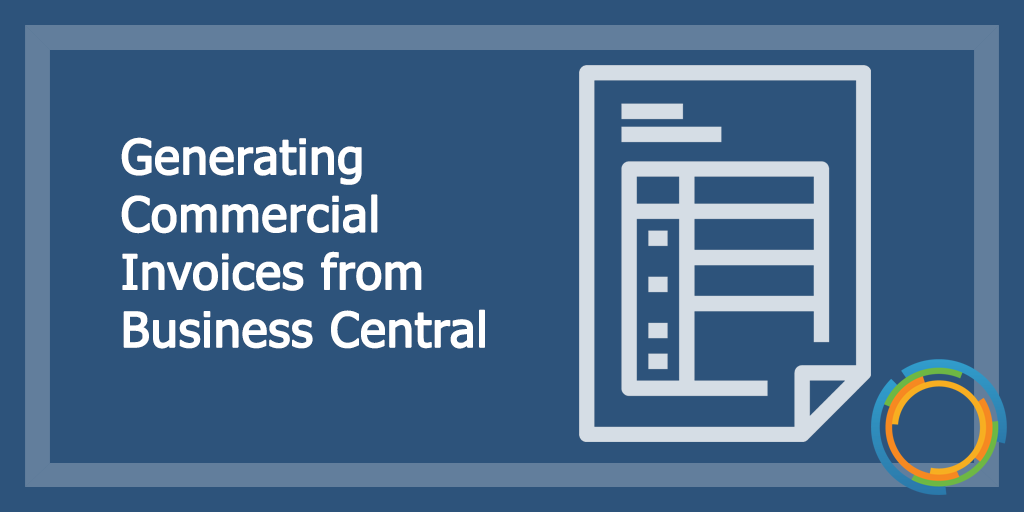 Generating Commercial Invoices
