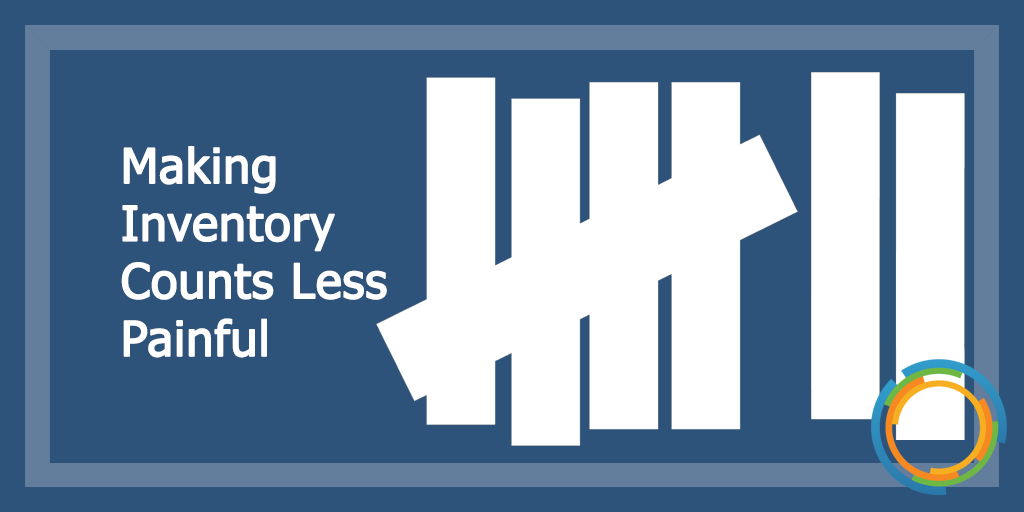 Making Inventory Counts Less Painful