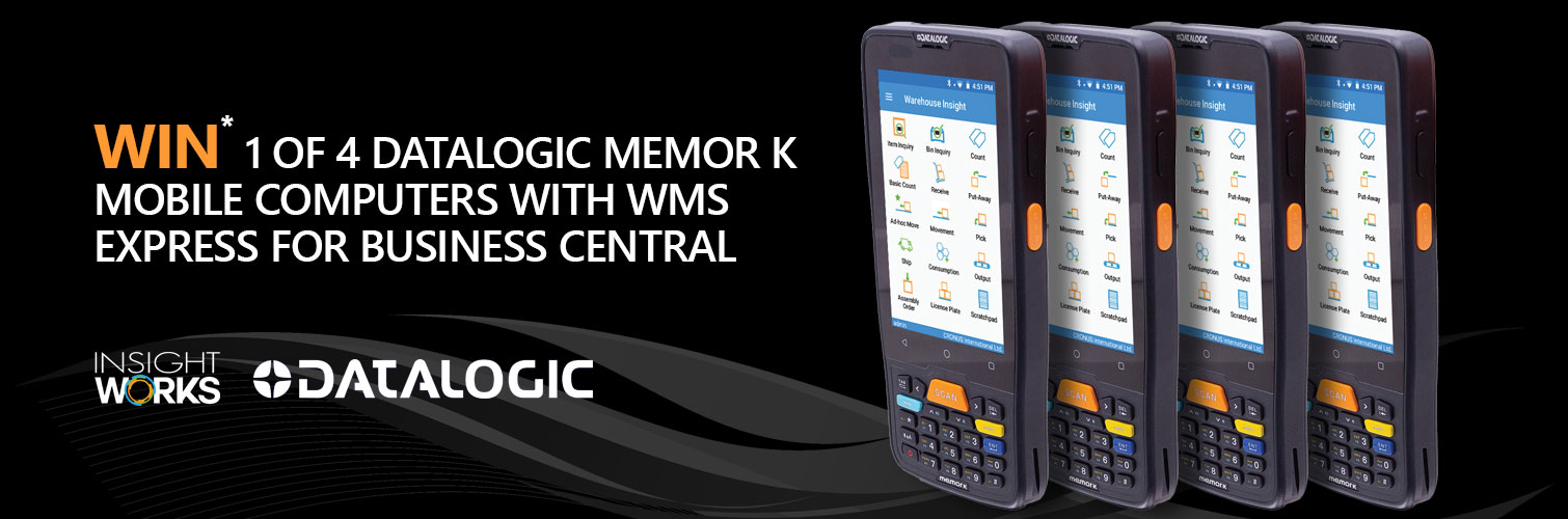 Win a Datalogic Memor K