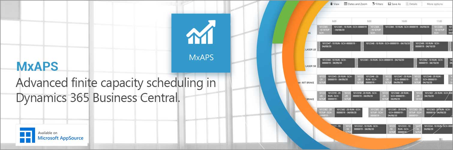 Planning and Scheduling for Business Central