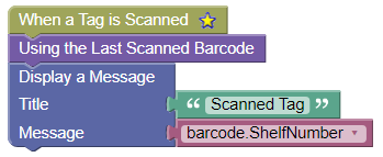 Scanning a Tag