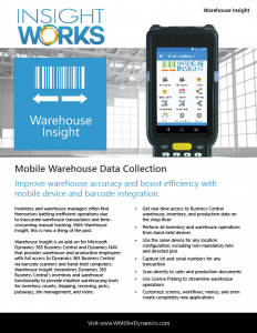 Warehouse Insight