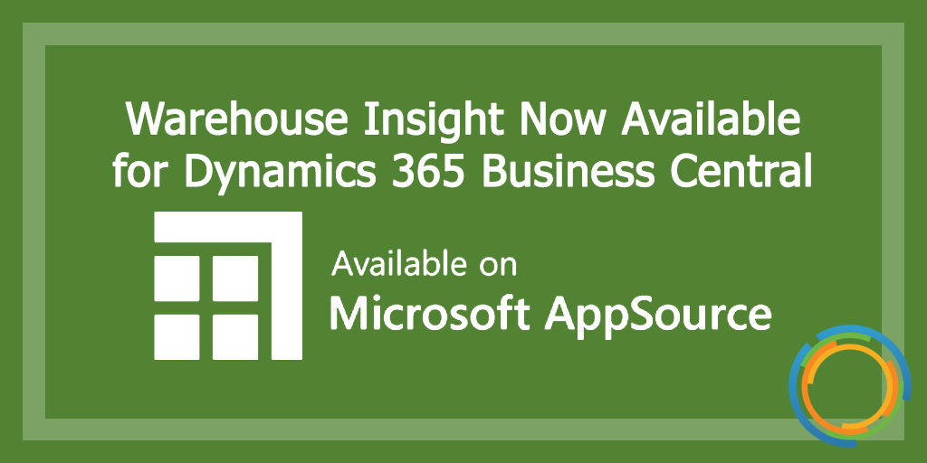Warehouse Insight Now Available for Dynamics 365 Business Central