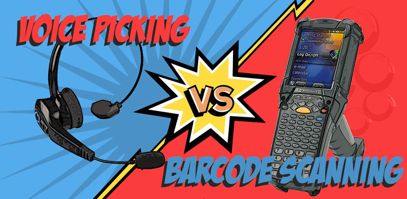 Voice picking vs  barcode scanning: Which is the best choice?